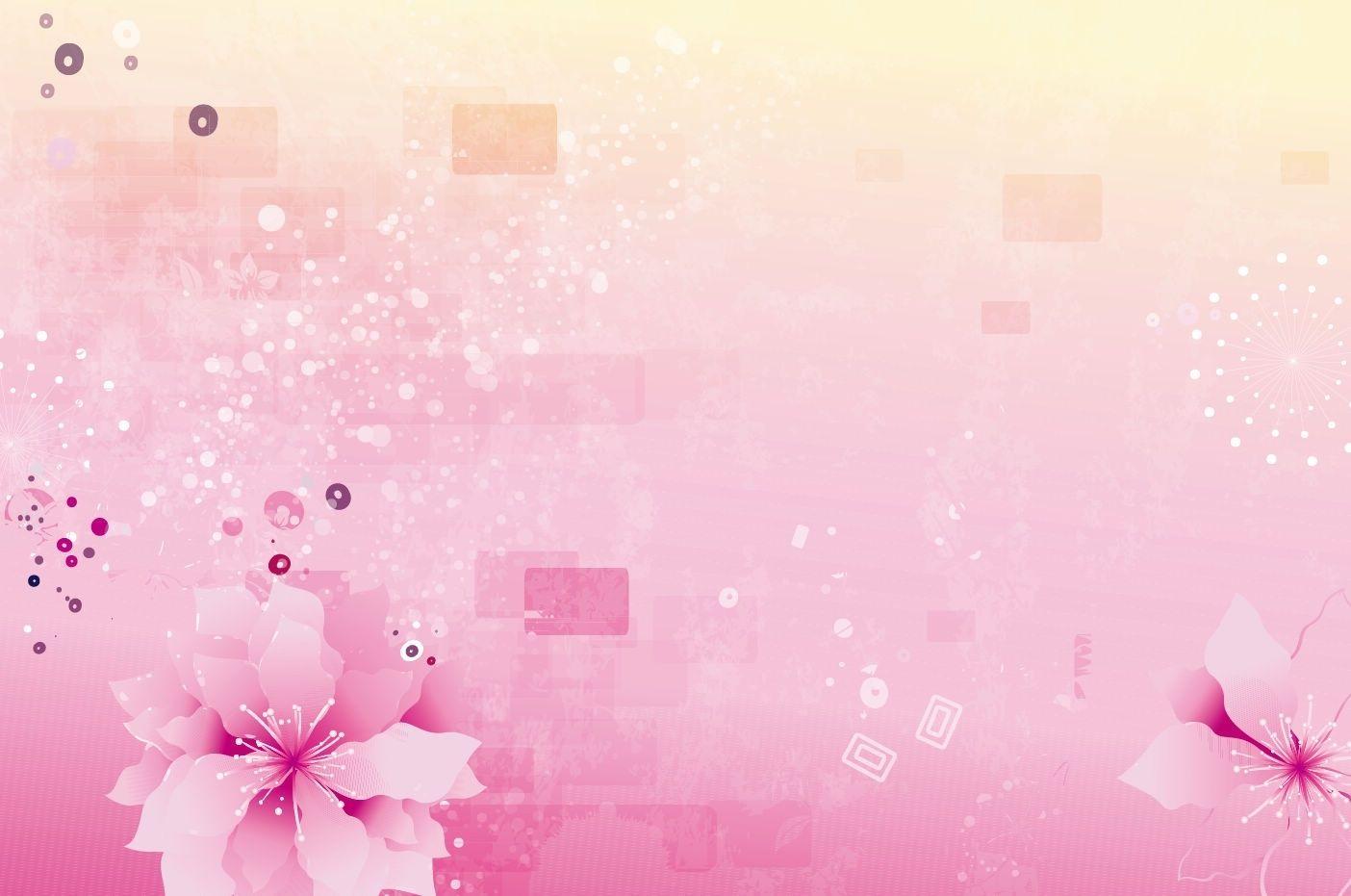 Flowers Of Pink Backgrounds Presnetation Ppt Backgrounds Templates With Ppt Template Background Pink22903 Desain