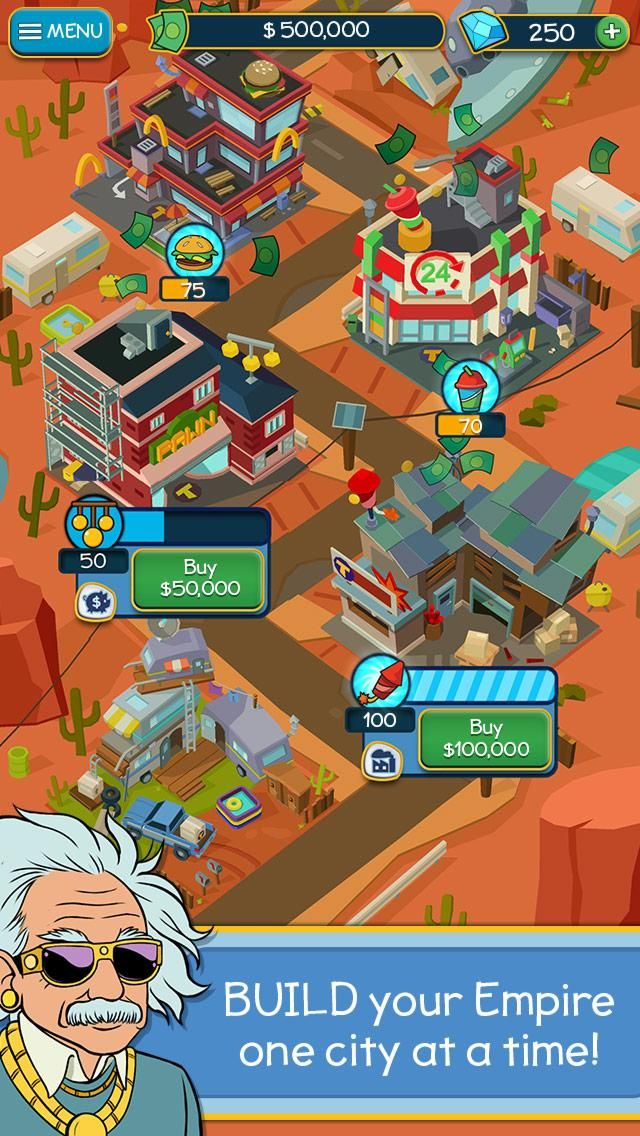 Taps to Riches MOD APK 2.50 (Unlimited Money) Download