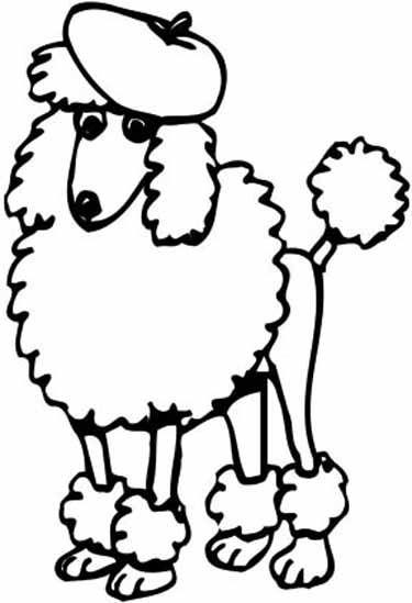 poodle cartoon images google search dremel phyro projects rh pinterest com Parisian Poodle Clip Art french poodle clipart