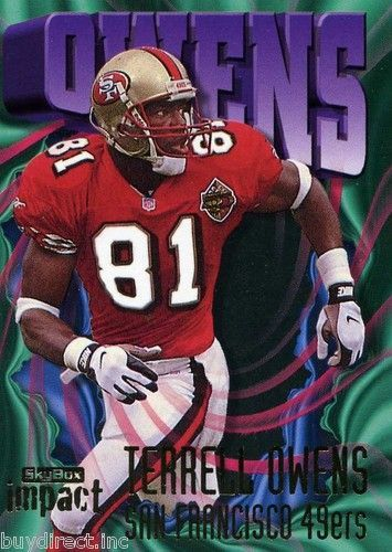new style 206f4 ca170 2 WR #13 49er 1996 2003 Terrell Owens | 49ers All-Time ...