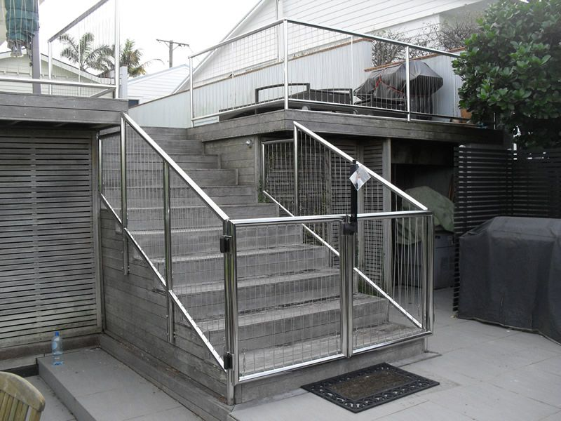 Luxury Steel Railing Balcony