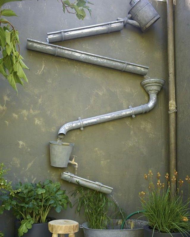 Récupérateur du0027eau de pluie #Garden\Outdoor Pinterest