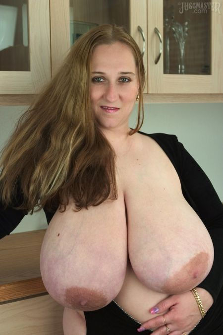 Big heavy hanging tits