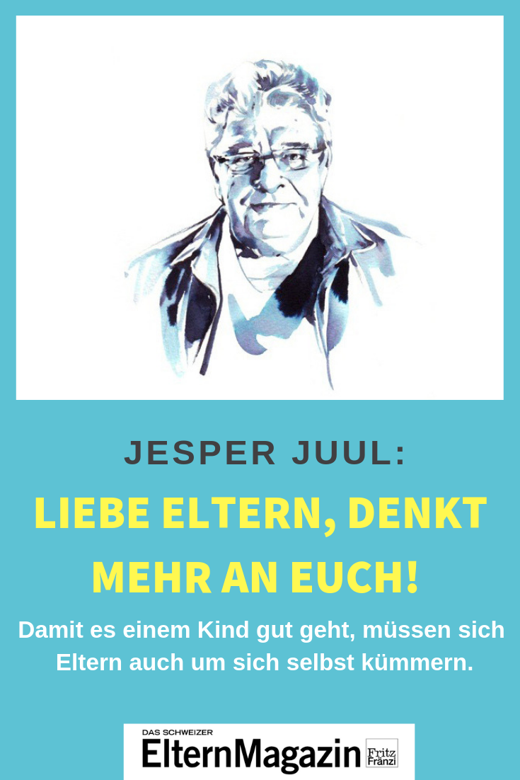 Photo of Jesper Juul: Dear parents, think more about you!