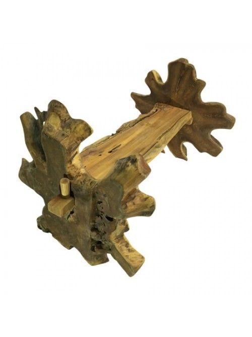 Java Teak Root King Bench | Driftwood furniture, Teak ...