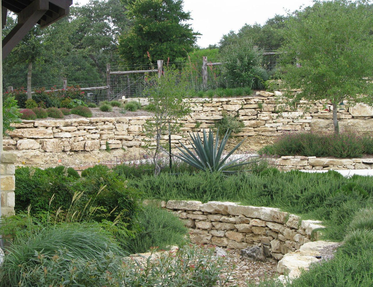 Texas Hill Country Xeriscaping Grows Landscaping Company San Antonio