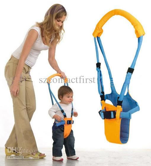 Baby Walker Helper Handheld Toddler Safe Walk Learning Harness Belt Assistant US