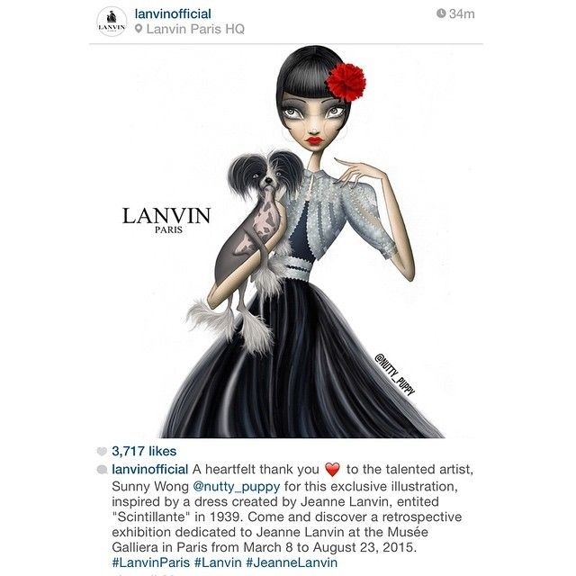 thank you lanvinofficial for being such an inspiration xoxo a a a