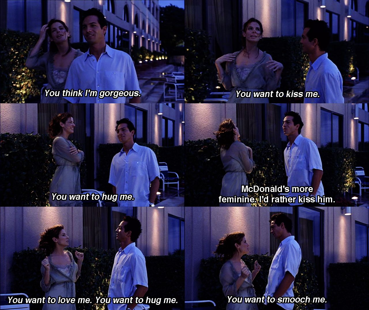 Let S Go To The Movies Favorite Movie Quotes Miss Congeniality Best Movie Quotes