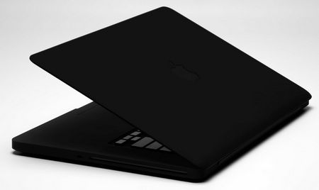 Colorware Stealth Macbook Pro In Matte Black Itech News Net Matte Black Macbook Macbook Pro