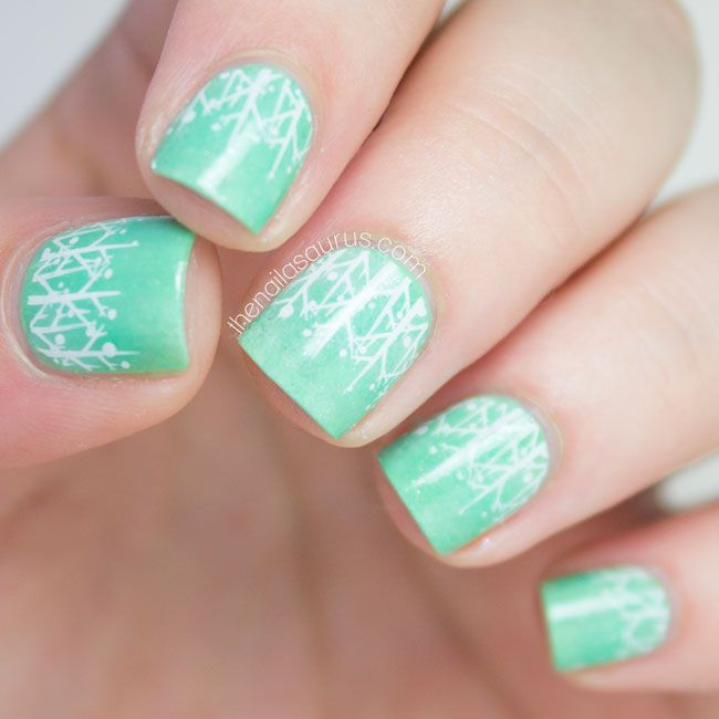 Evergreen | Evergreen, Uk nails and Nail art blog