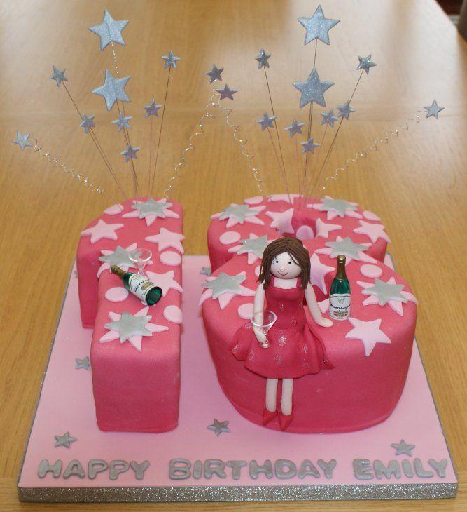 18th Birthday Cakes For Girls 253x300 cakes Pinterest ...