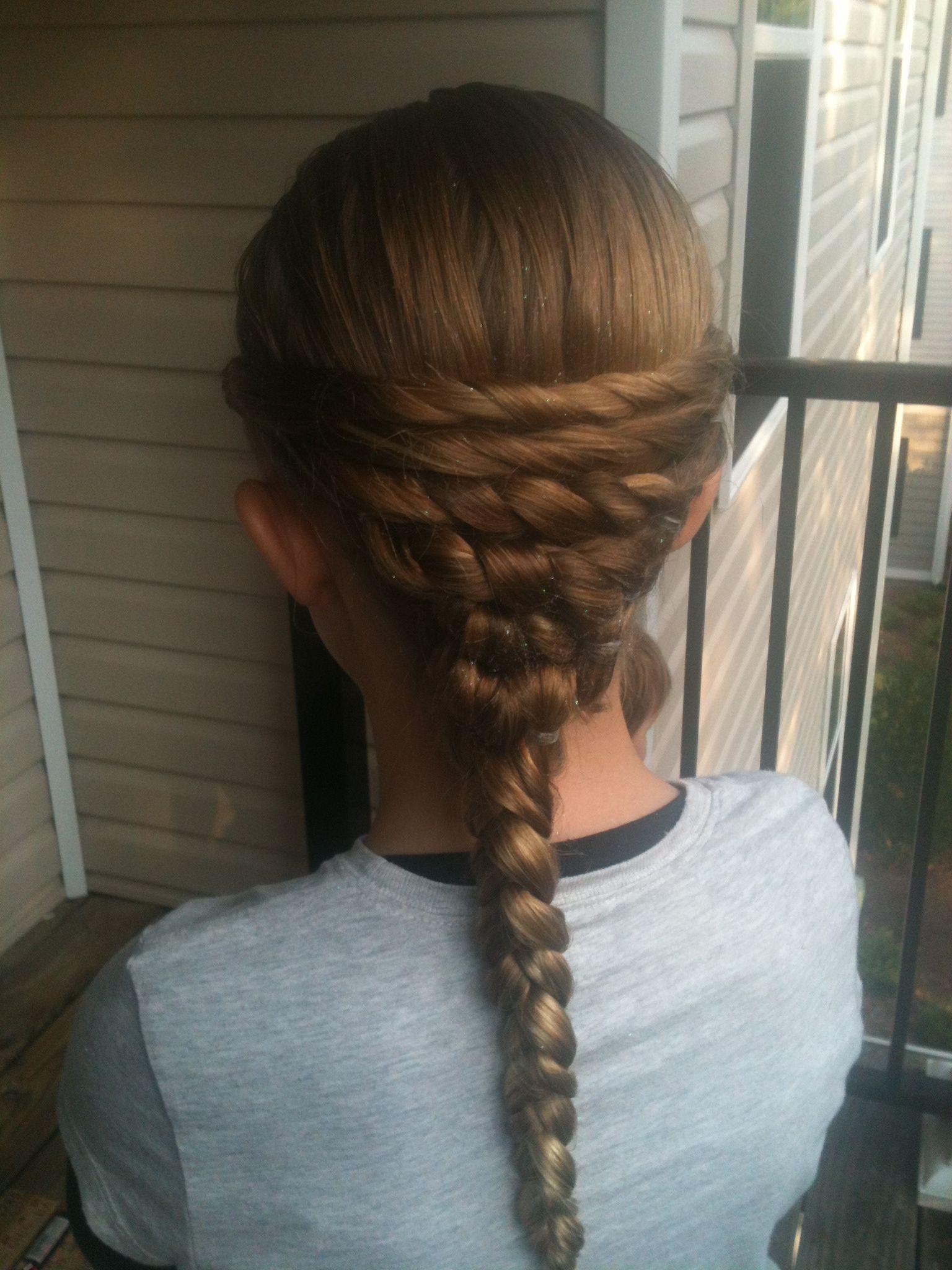 Basket weave braid Hair styles we have done Pinterest