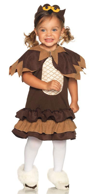 Owl Halloween Costume for Toddler Girls Sew Fun Pinterest - halloween ideas girls