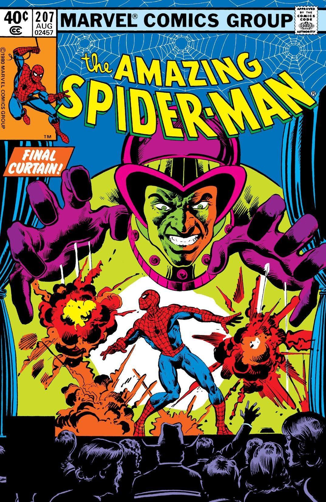Amazing Spider Man Vol 1 207 Amazing Spider Amazing Spiderman Marvel Comics Covers