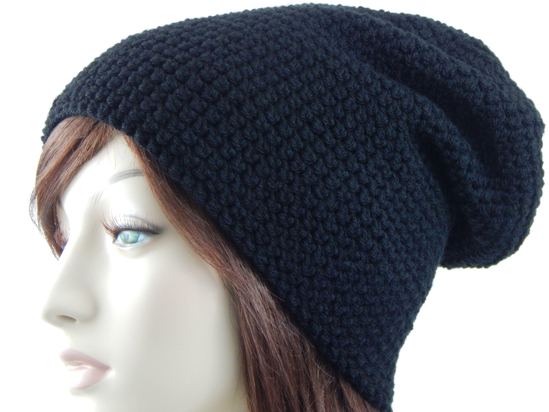 c3ef19b9f5b Black Slouch Hat
