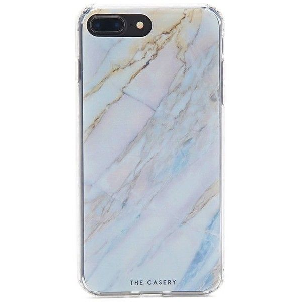 huge selection of 25c05 dc620 Forever21 The Casery Marble Case For iPhone 7 Plus ($20) ❤ liked on ...