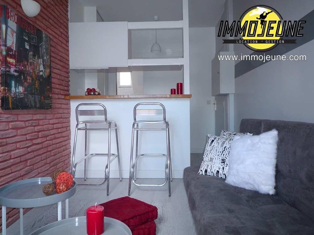 Tres Joli Studio De 17m Meuble Et Refait A Neuf Paris 75009 Location Etudiant Room Interior Home Studio Apartment