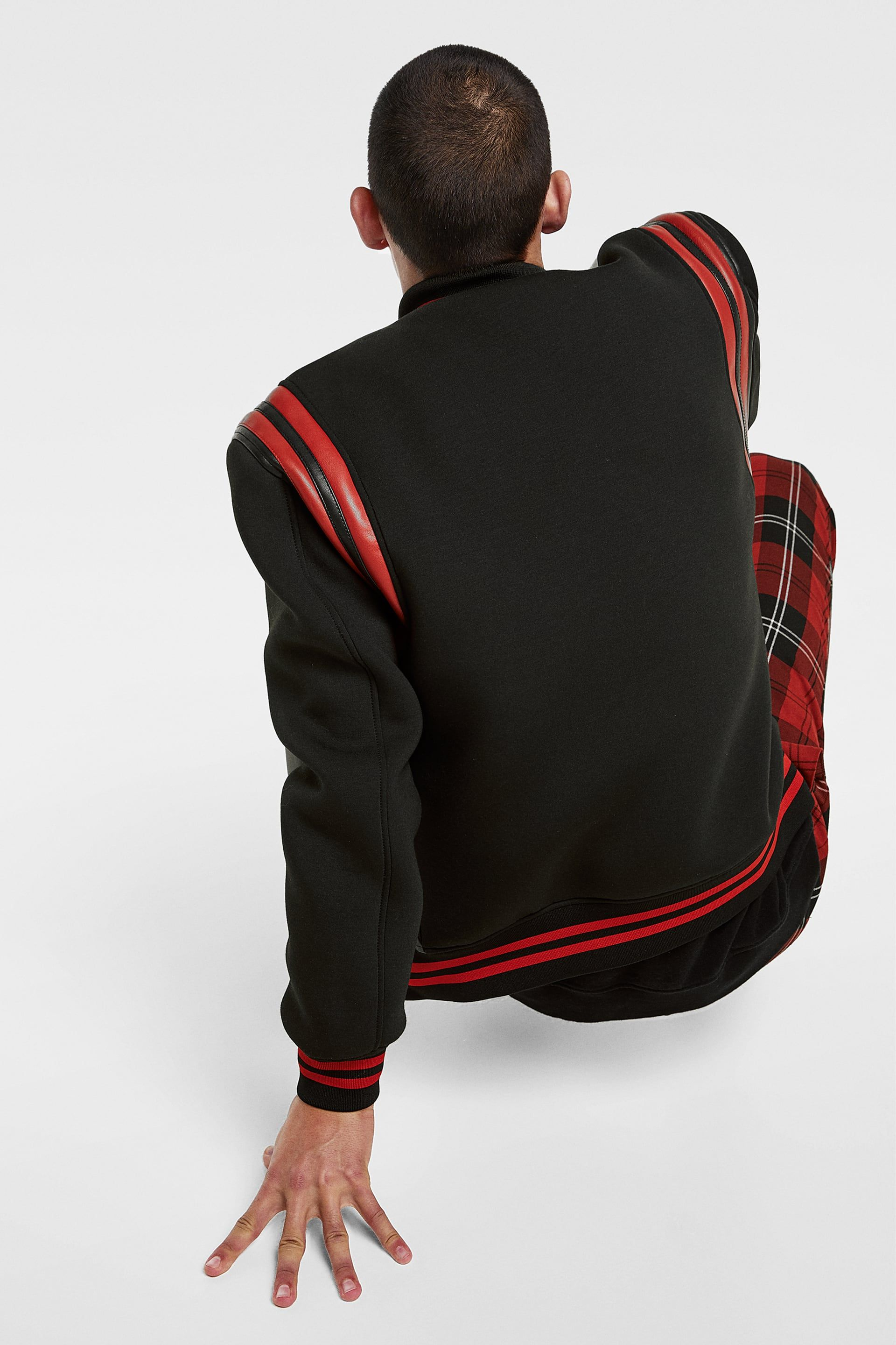 Image 3 of TECHNICAL BOMBER JACKET from Zara(画像あり) スラムダンク