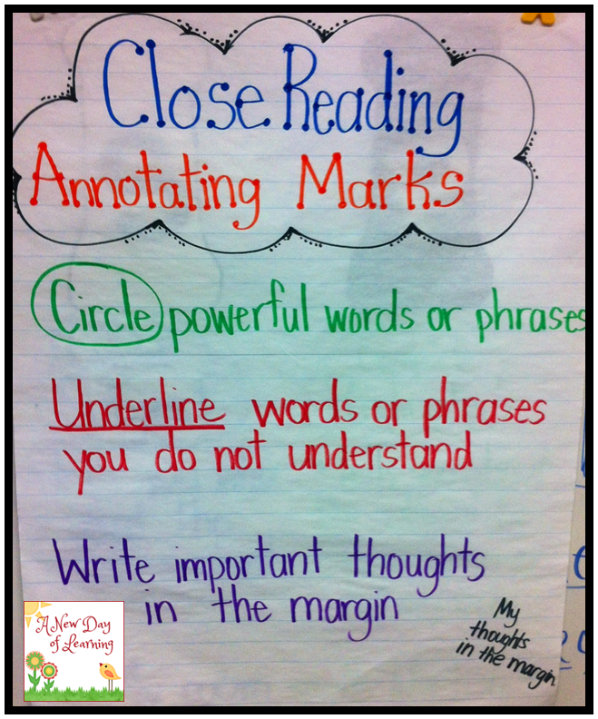 Do you do Close Reading in your classroom? Check out this