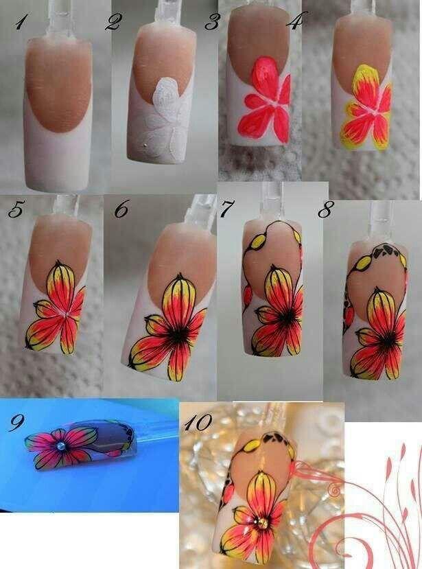 Summer Art Easy Nail Art Pinterest Easy Nail