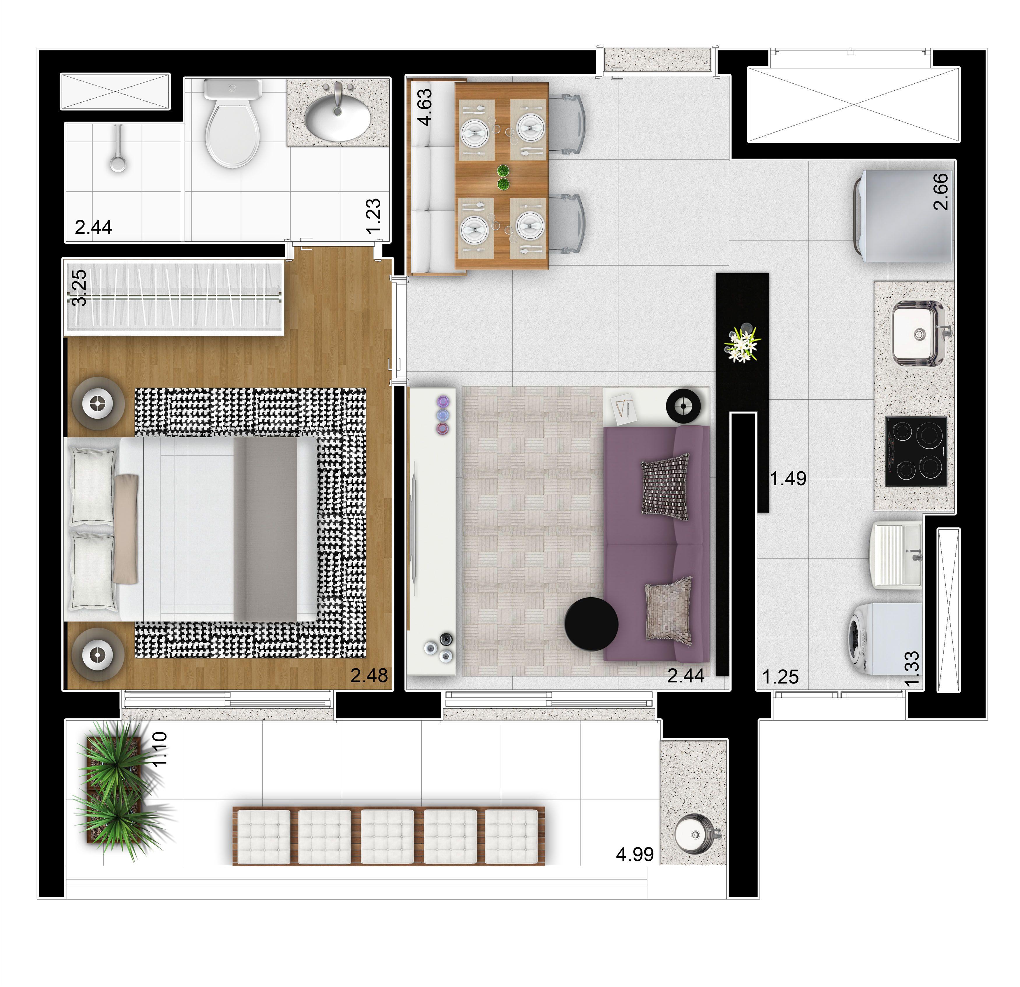 Pin by fran de campos on planta baixa pinterest for Apartment plans autocad