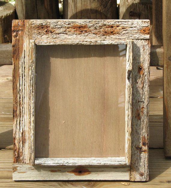8x10 Frame Rustic Shadowbox Design Key West Crab Trap Wood Shabby Chic Home Decor On Etsy 55 00 Rustic Picture Frames Rustic Pictures Rustic Wood Frame