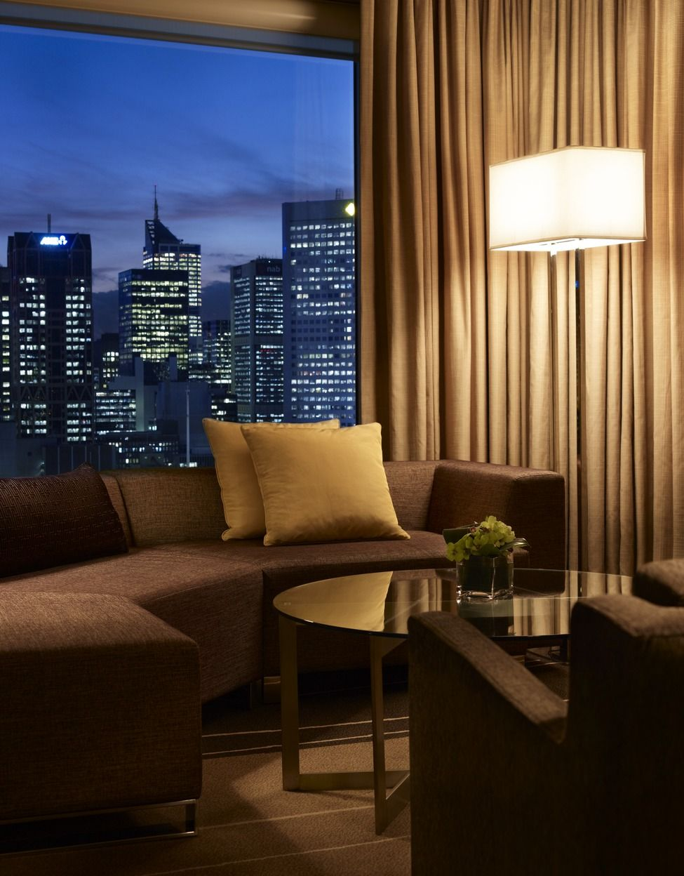 Enjoy the sights and sounds of the city at Grand Hyatt Melbourne