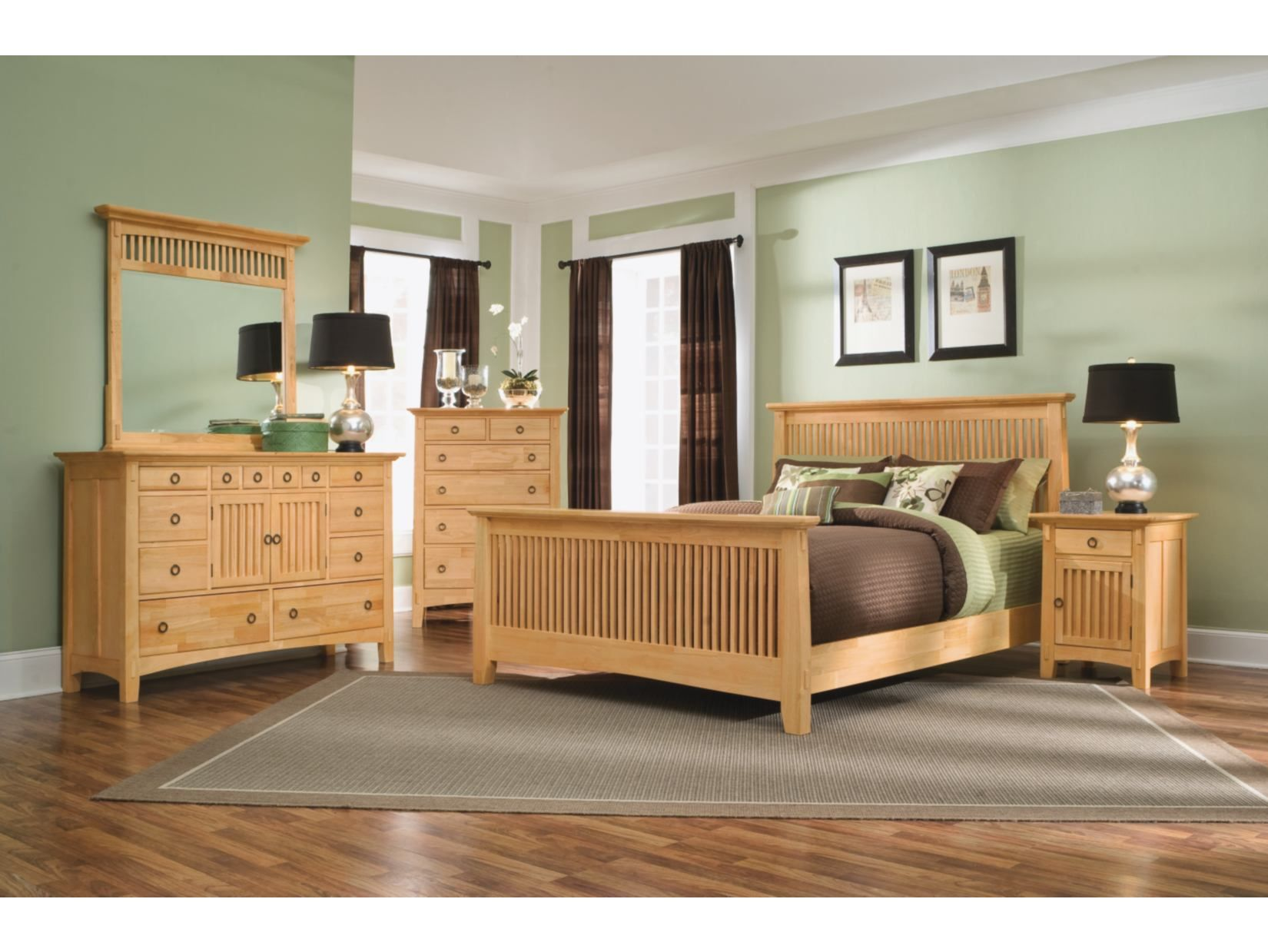 Arts & Crafts 5-PC Bedroom Package - American Signature ...
