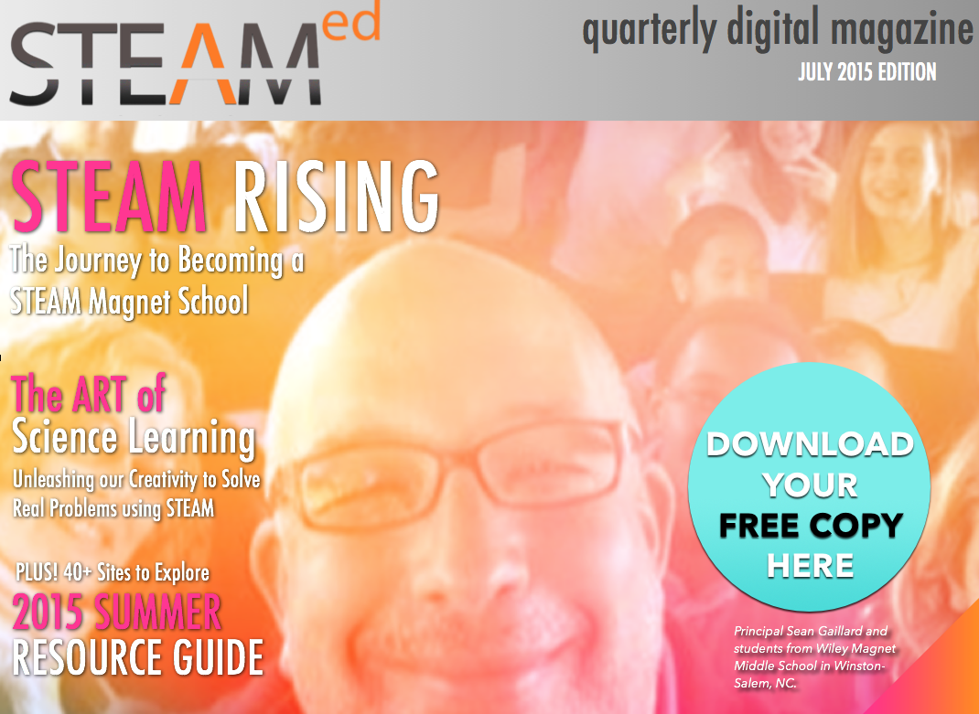 July 2015 Issue of STEAMed is HERE! Free download   EducationCloset