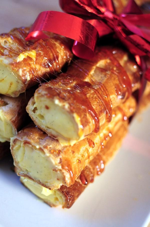"""La bûche """"trop chou"""" – Blog de cuisine créative, recettes / popotte de Manue"""