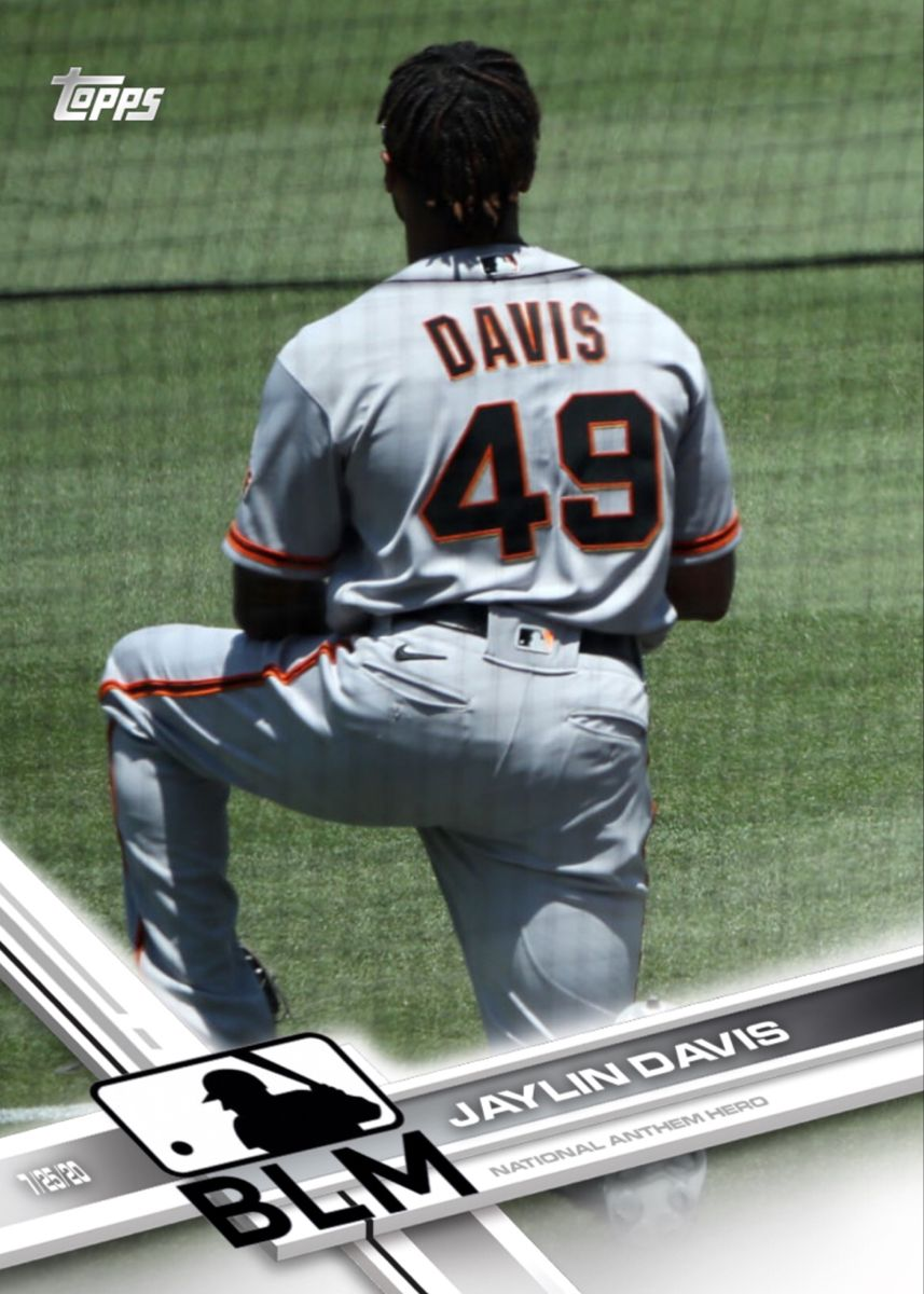 Jaylin Davis San Francisco Giants In 2020 Mlb Nationals San Francisco Giants Kaepernick