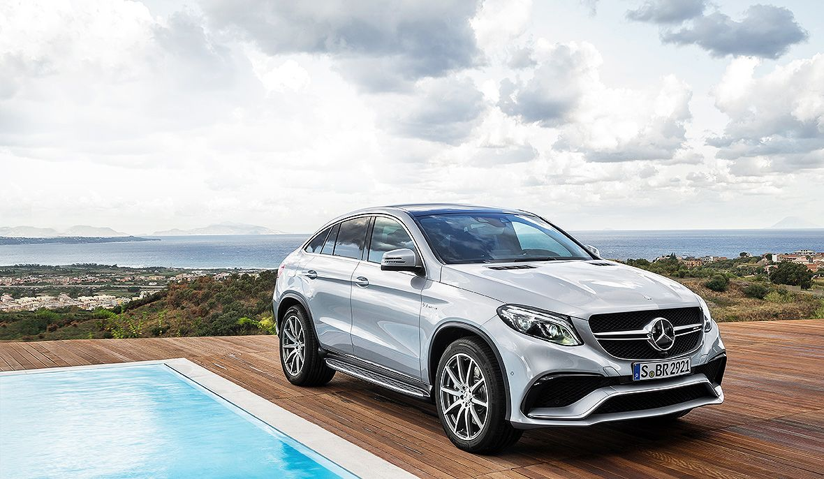 The new Mercedes AMG GLE 63 Coupé