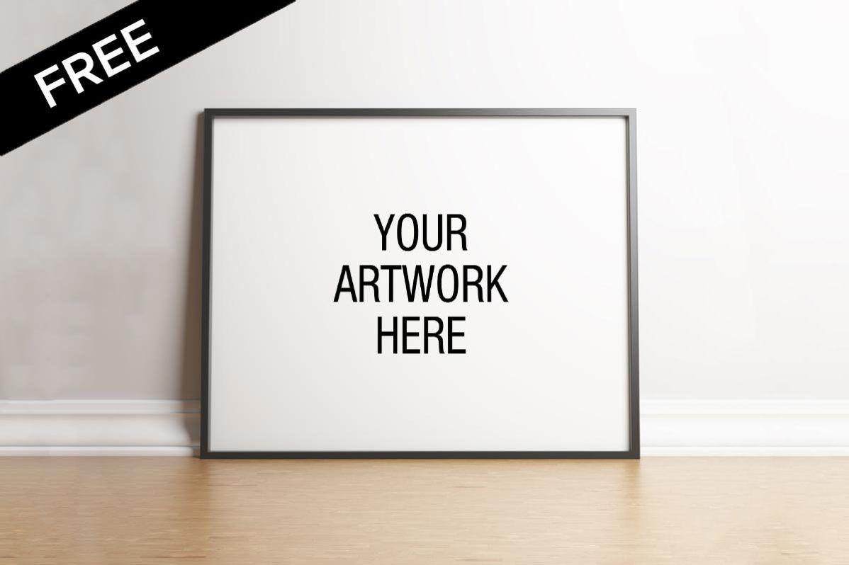 Free Landscape Poster Frame Mockup Mockups