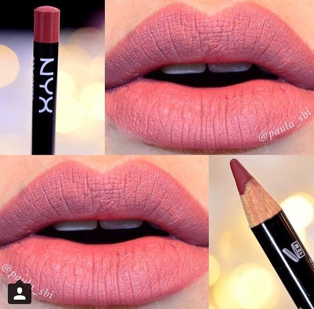 Nyx Slim Lip Pencil In Ever Lip Pencil Lip Colors