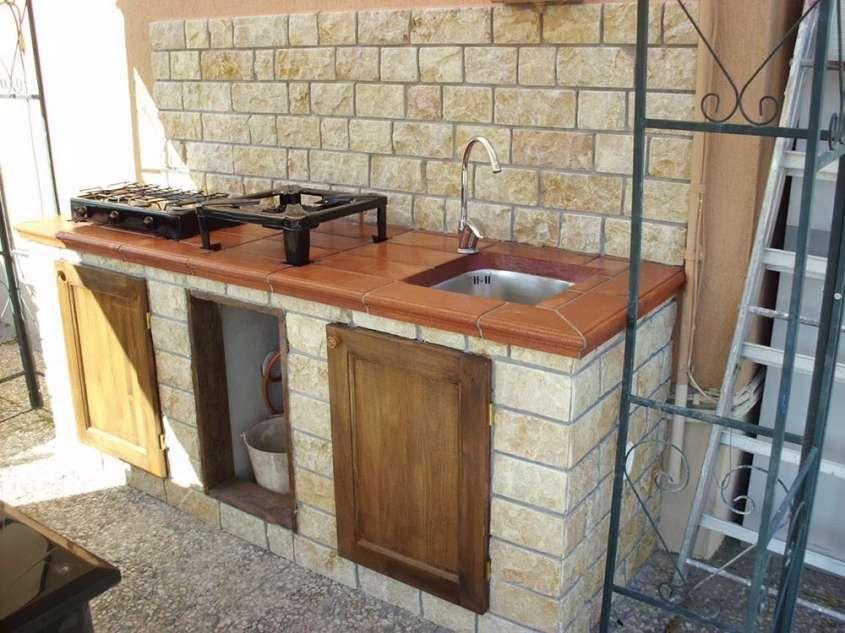 Cucine da esterno - Cucina da esterno rustica | Holidays