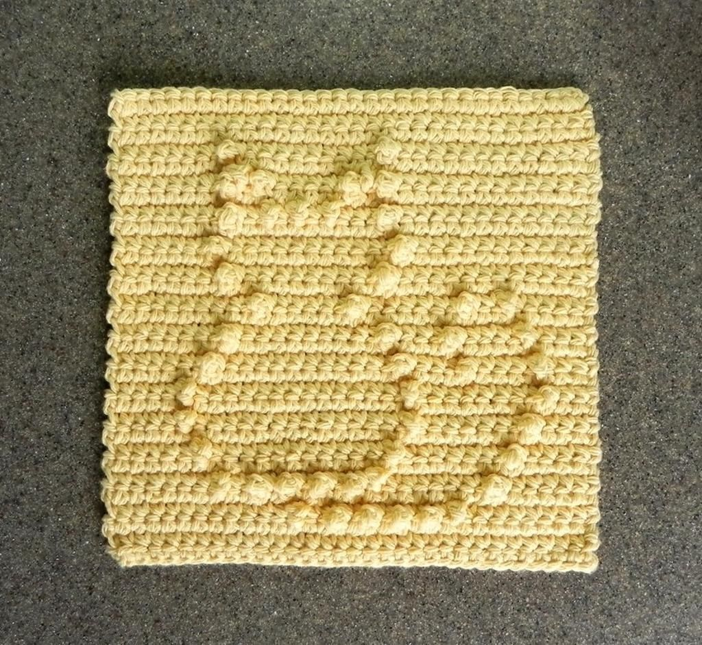 4) Name: \'Crocheting : Cat Crochet Dishcloth Square | The Cat\'s Meow ...