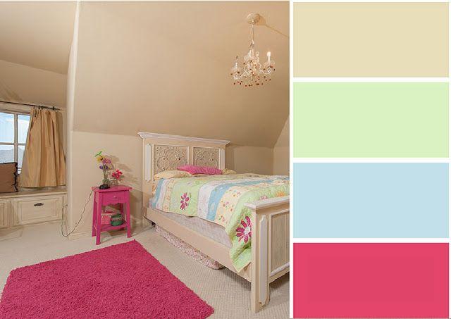 40 Combinaciones de Paletas de Colores para Dormitorios nueva casa