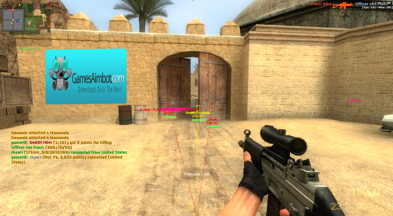 Counter Strike Source Aimbot Free from our page http//www