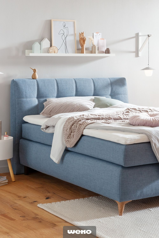 Deko Ideen Schlafzimmer Blau