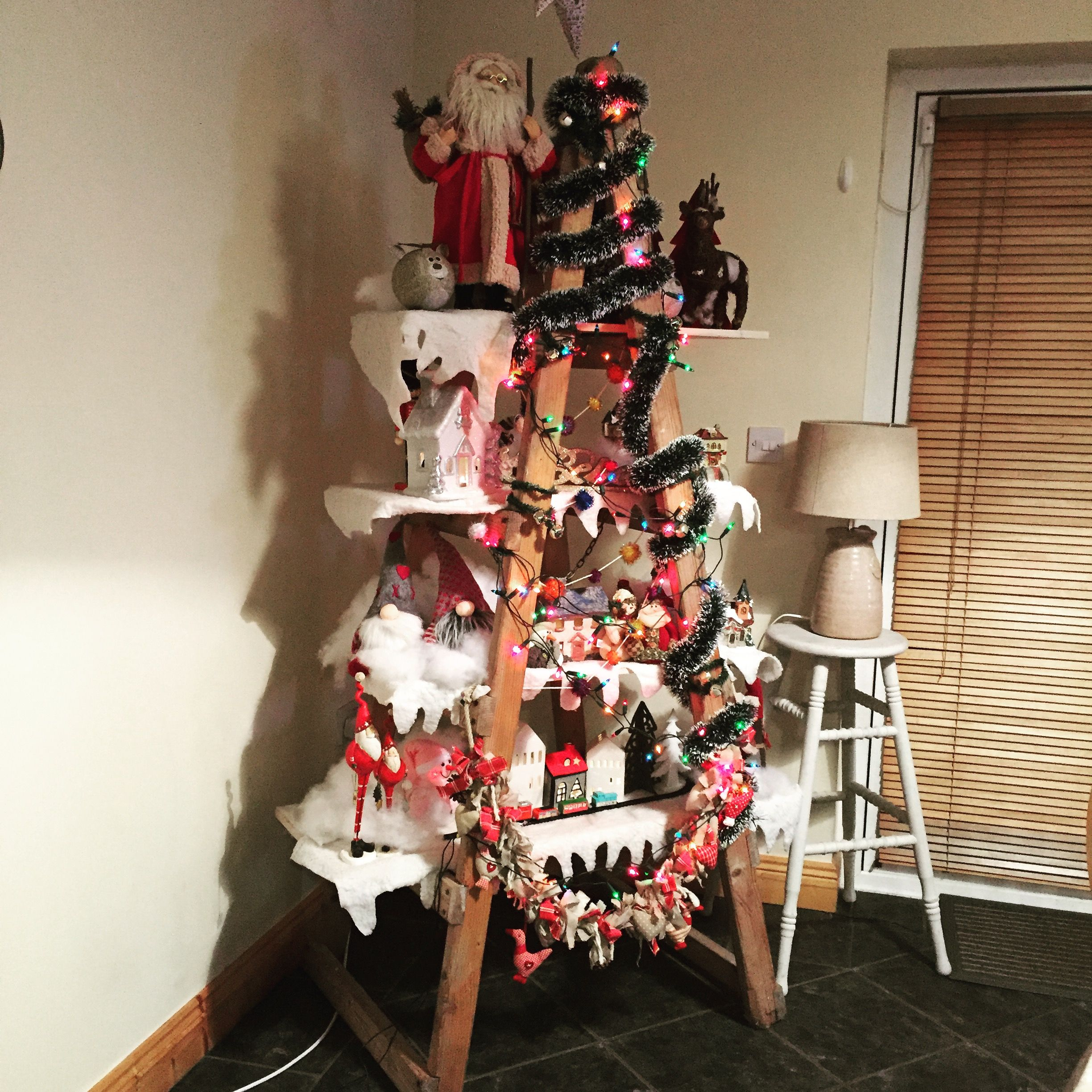 My ladder Christmas tree 🎄