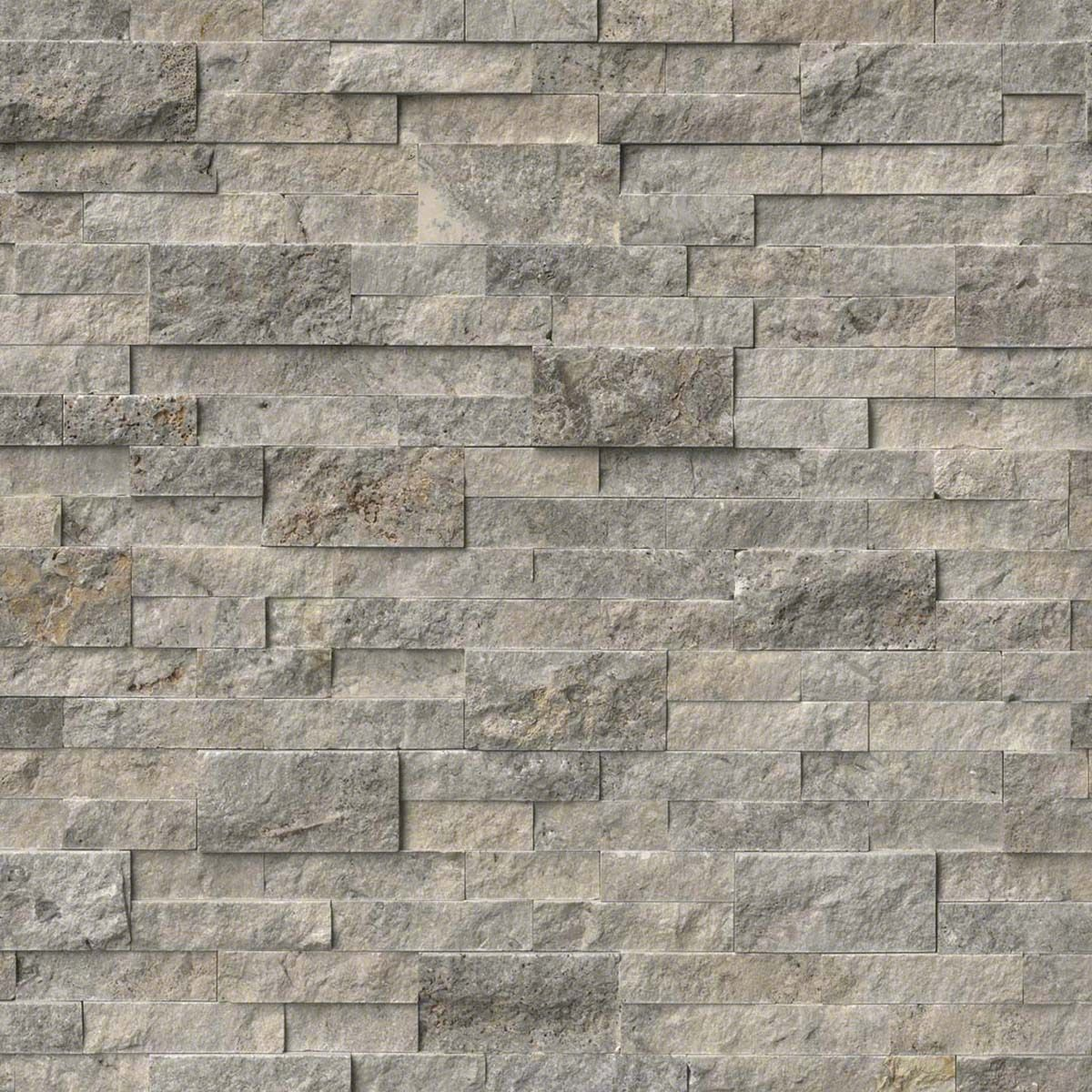 from msi stone have sample primarily gray with some