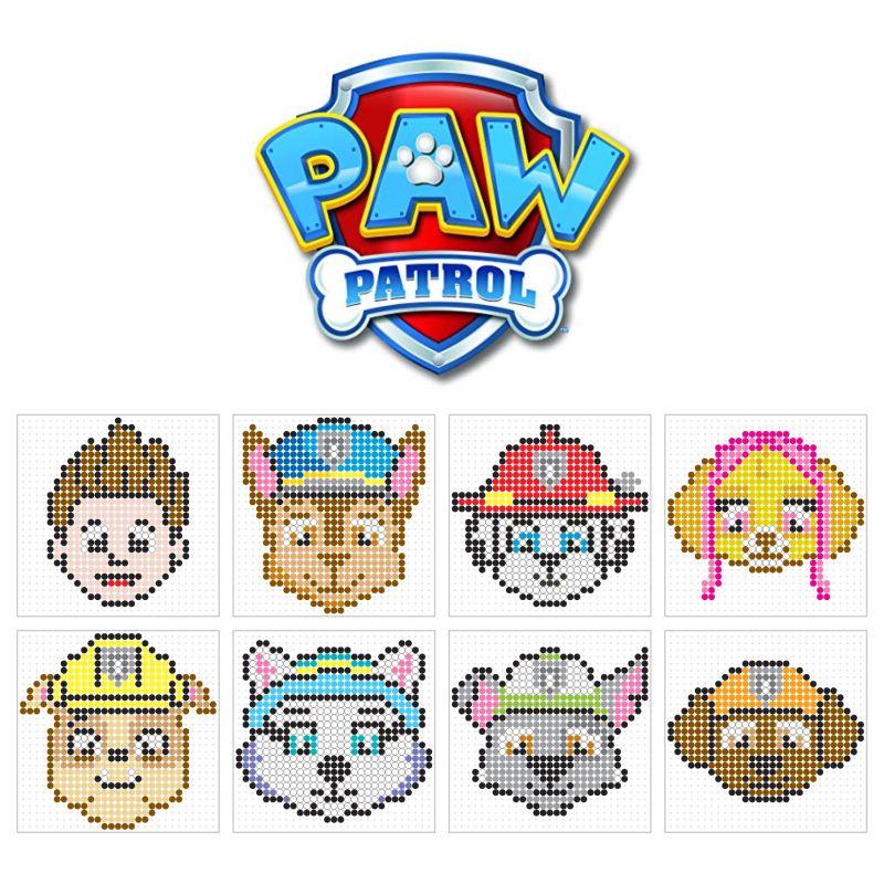 Paw Patrol Chase Bugelperlen Vorlagen Bugelperlenbilder 13