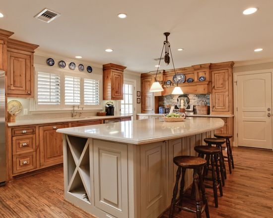 New Paint for Kitchen Walls with Dark Cabinets