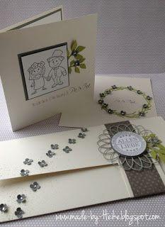Meine kreative Welt Hochzeit Basteln Karten