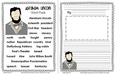 abraham lincoln writing paper