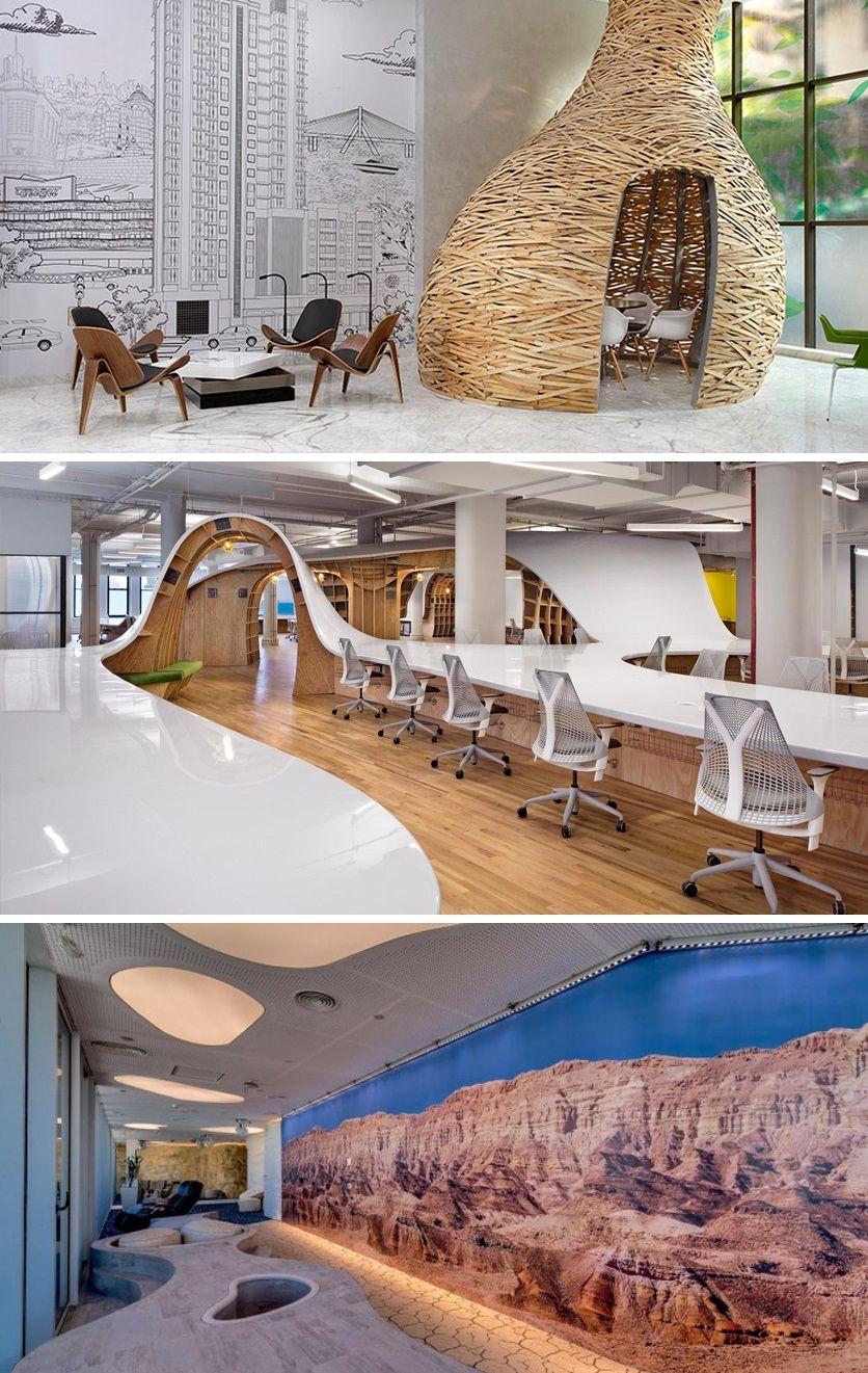 Oficinas creativas una tendencia en la decoracion del mbito laboral crea un ambiente for Decoracion de oficinas creativas