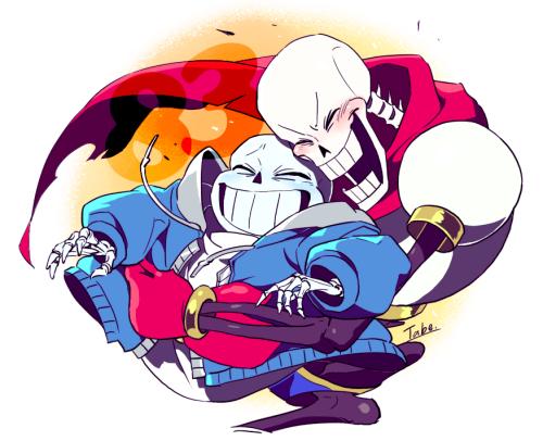 "tokonbu: "" Papyrus and Sans メイキングもつけてみました! """