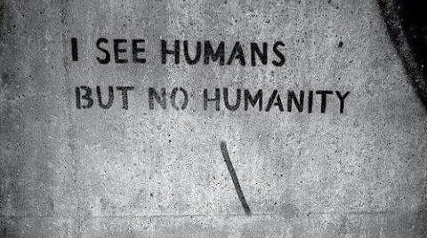 Humanity Isn't Black And White