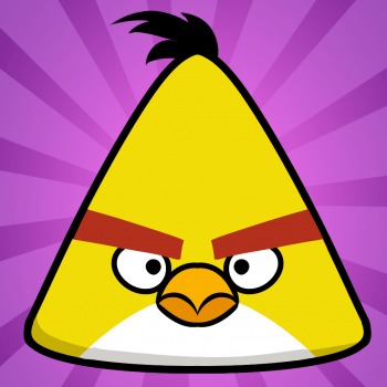 How To Draw The Yellow Bird Yellow Angry Bird Angry Birds